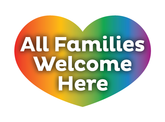 All Familes Welcome Here Logo